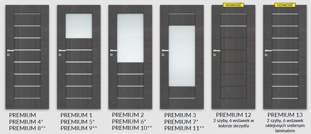 Drzwi DRE Premium szybki-premium