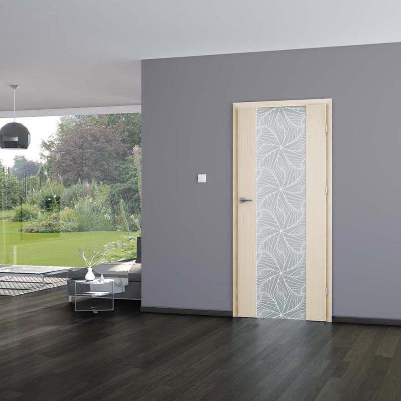 Drzwi DRE Vetro A wizualizacja
