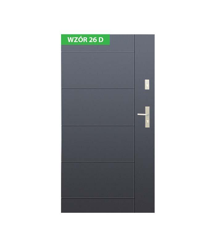 Drzwi Wikęd wzór 26D