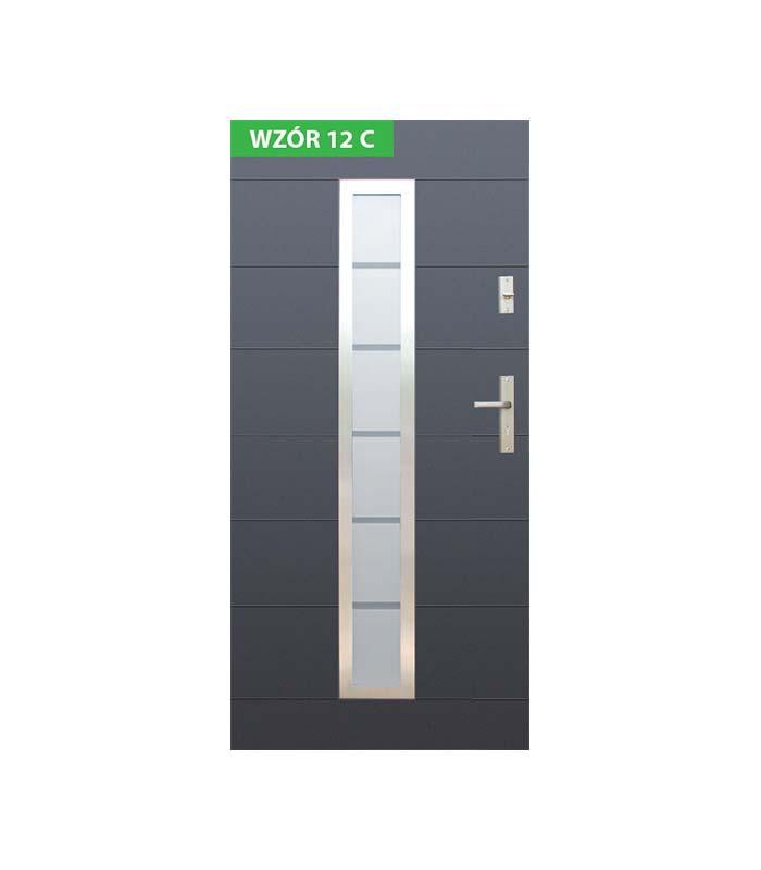 Drzwi Wikęd wzór 12C
