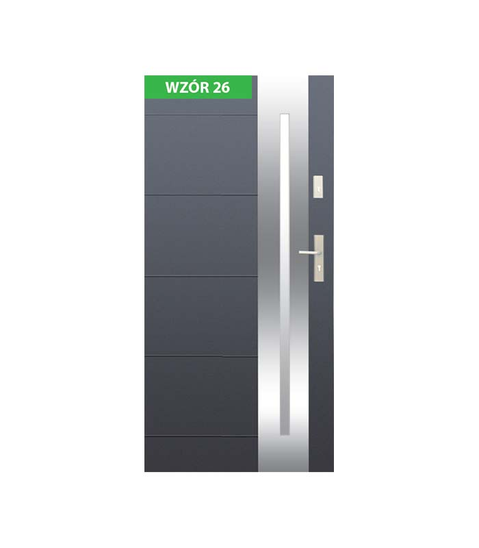 Drzwi Wikęd wzór 26