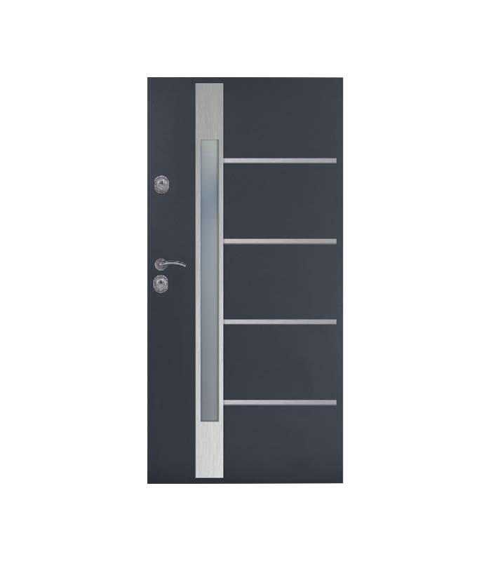 drzwi-delta-gladkie-pasek-inox-m6