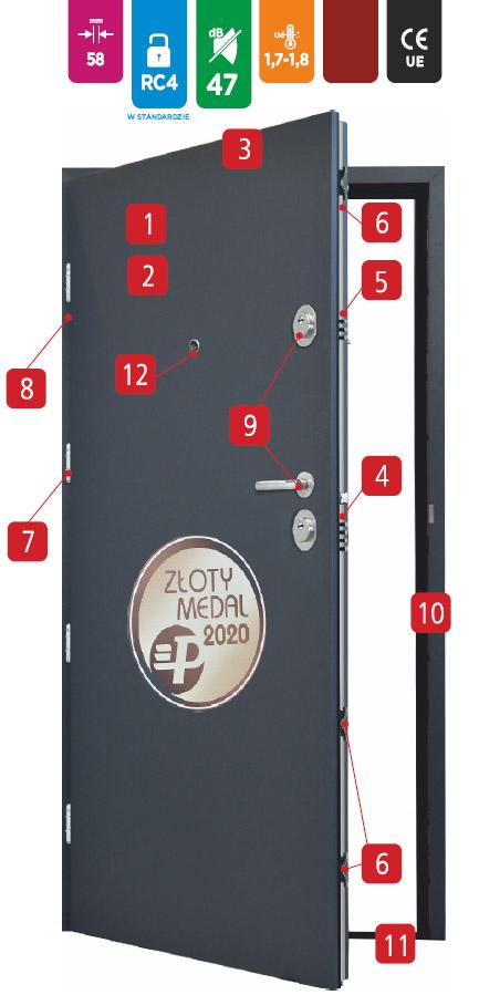 drzwi-delta-magnum-58k-schemat